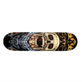 Skulls, Vampires and Bats customizable by Al Rio Skateboard Deck
