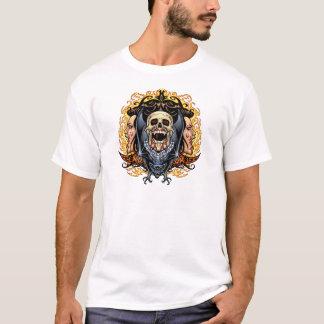 Skulls, Vampires and Bats Gothic Design by Al Rio T-Shirt