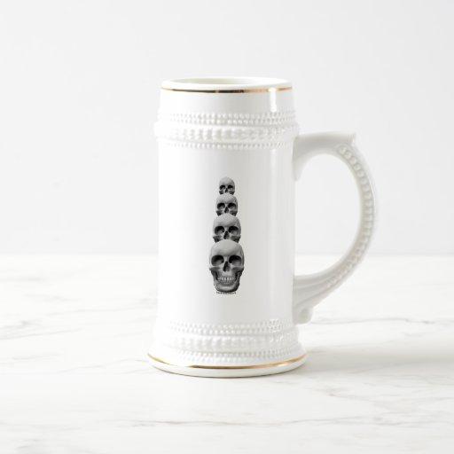 Skulls - Vertical Coffee Mug