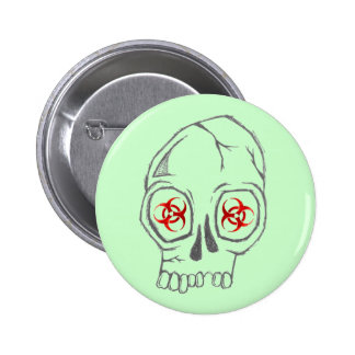 SkullSick Pin Redondo 5 Cm
