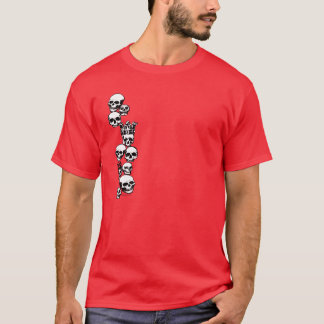 SkullsT-Shirt 2side T-Shirt