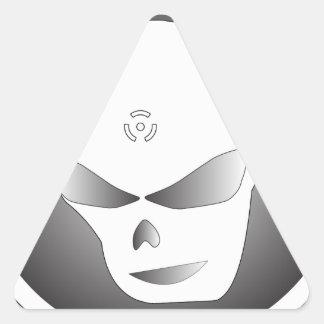 Skullthrash™ Pegatina Triangular