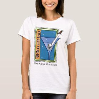 Skulltini Martini T-Shirt