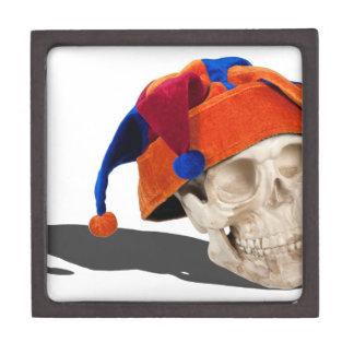 SkullWearingJokerHat103013.png Premium Keepsake Boxes