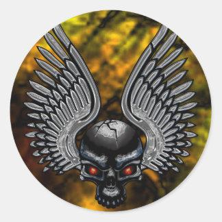 Skullwing X Sticker