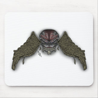 skullwings mouse pad