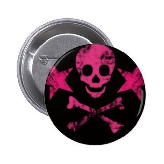 Skully 2 Inch Round Button
