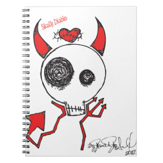 Skully Diablo Notebook