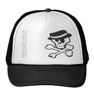 Skully Graphic Cap Trucker Hat