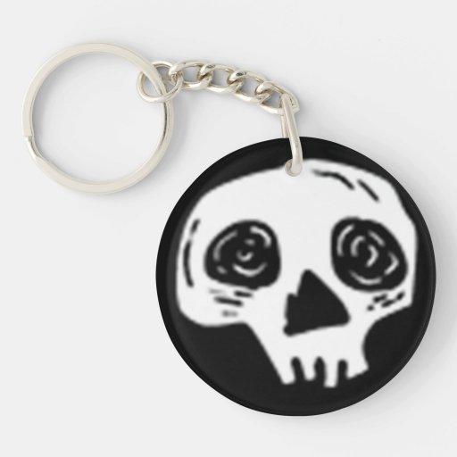Skully Keychain