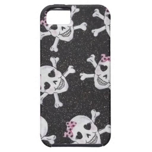 Skully lindo iPhone 5 funda