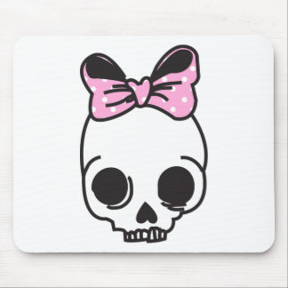 skully mouse pad