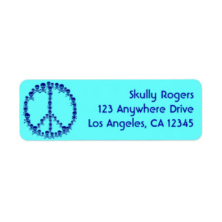 Skully Peace Label