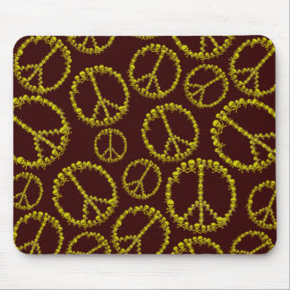 Skully Peace Sign Mouse Pad