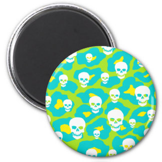 Skully Pop Leopard Magnet