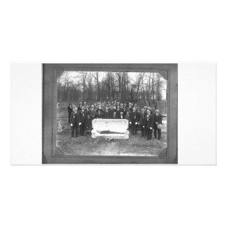 Skully Schwag superior Plantilla Para Tarjeta De Foto