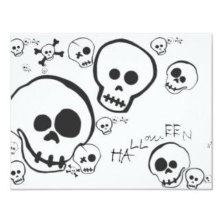 Skully Skellies Skeleton Friends Invite