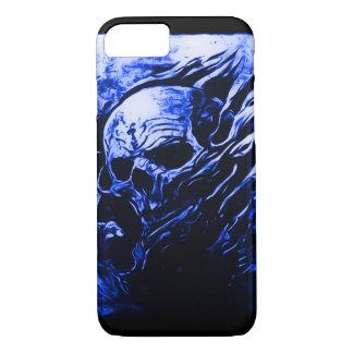 Skully Skull Blue Reaper iPhone 8/7 Case