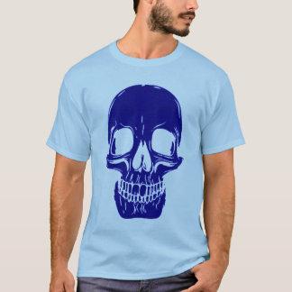 Skully Skull Blues Skull Grunge Symbol Tee