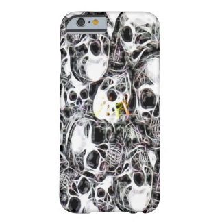Skully Skull Burial Ground Fractal Barely There iPhone 6 Case