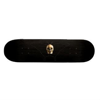 Skully Skull Butterfly Of Death Deck