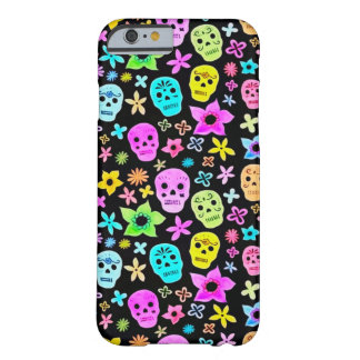 Skully Skull Dead Festival Barely There iPhone 6 Case