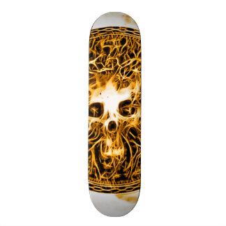 Skully Skull Death Burn Skateboard Deck