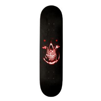 Skully Skull Demon Reaper Skateboard Deck
