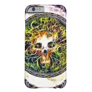 Skully Skull Earthbound Fractal Barely There iPhone 6 Case