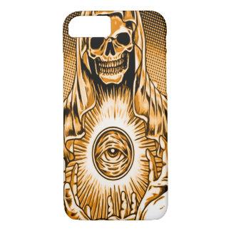 Skully Skull Gold Damnation Reaper iPhone 8/7 Case