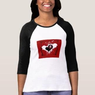 Skully - Skull Heart T Shirt