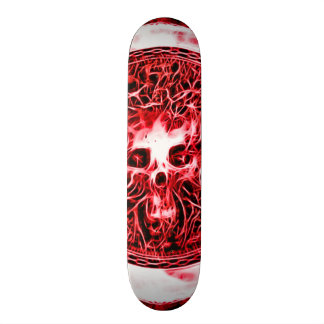 Skully Skull Hellbound Skateboard Deck