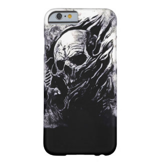 Skully Skull King Reaper Airbrush Art iPhone Barely There iPhone 6 Case