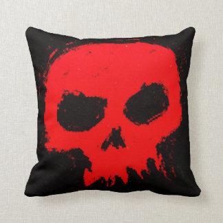 Skully Skull Throw Pillow