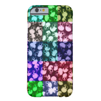 Skully Skull Rainbow Graveyard Barely There iPhone 6 Case