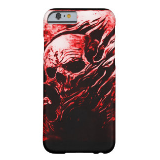 Skully Skull Red Dead Reaper Airbrush Art iPhone Barely There iPhone 6 Case