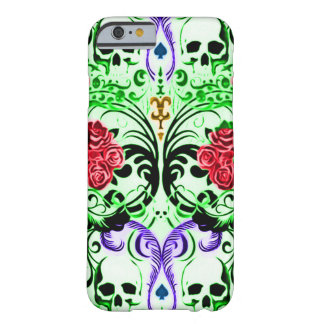 Skully Skull Royal Flush Barely There iPhone 6 Case