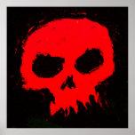 Skully Skull Wall Poster