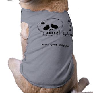 Skully - Skully Wag tee; grey Tee