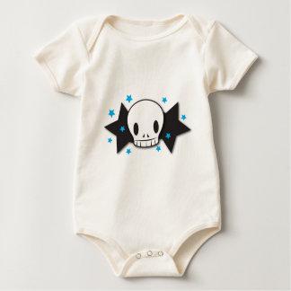 skully starz baby bodysuit