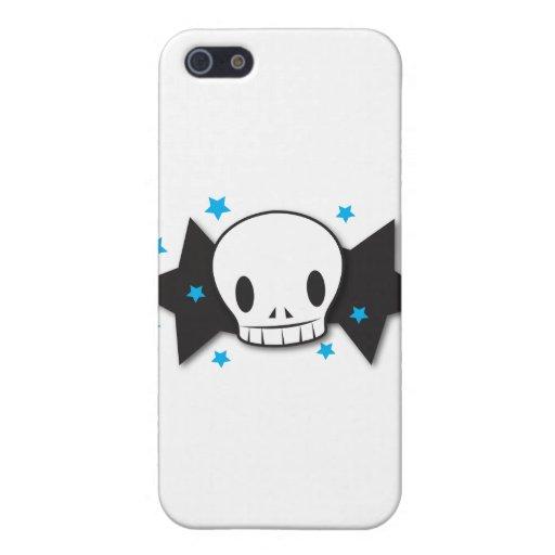 skully starz iPhone 5 funda