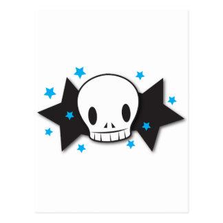 skully starz postcard