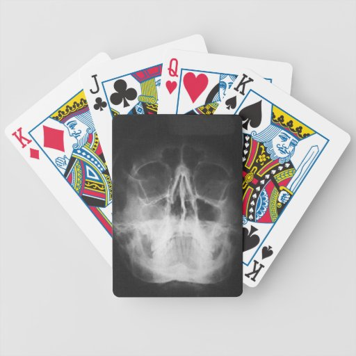 Skully Top Fun Bicycle Playing Cards