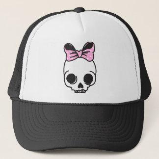 skully trucker hat