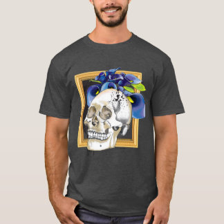 Skully with Calla Lily T-Shirt