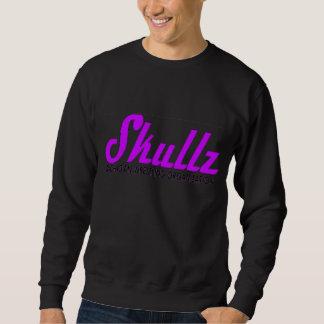 Skullz Cursive Logo Pullover Sweatshirt