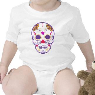 skullz del azúcar: 1 trajes de bebé
