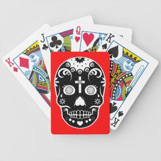 skullz del azúcar: 2 baraja cartas de poker