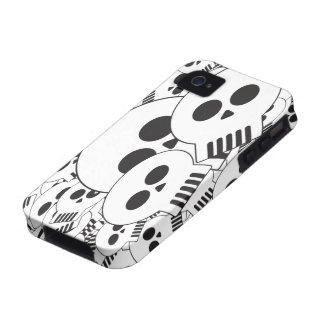 Skullz R nosotros Vibe iPhone 4 Carcasa