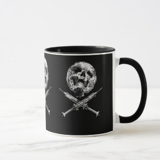 Skulsl y jeringuillas taza